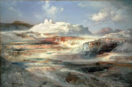 © Thomas Moran, Jupiter Terrace, Yellowstone (1893)